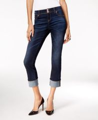 Image of INC International Concepts Cropped Jeans, Regular & Petite, Created for Macy's