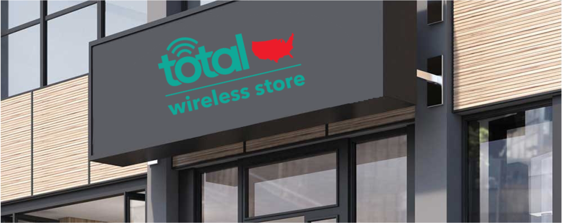 Total Wireless Store front image in Santa Ana,  CA