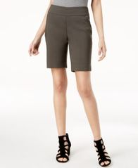Image of I.N.C. Stud-Trim Bermuda Shorts, Created for Macy's