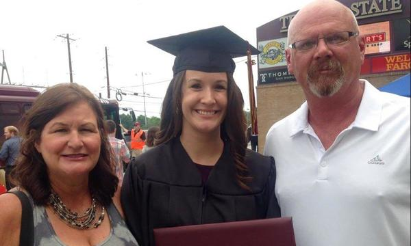 My Daughter's college graduation from Texas State University!