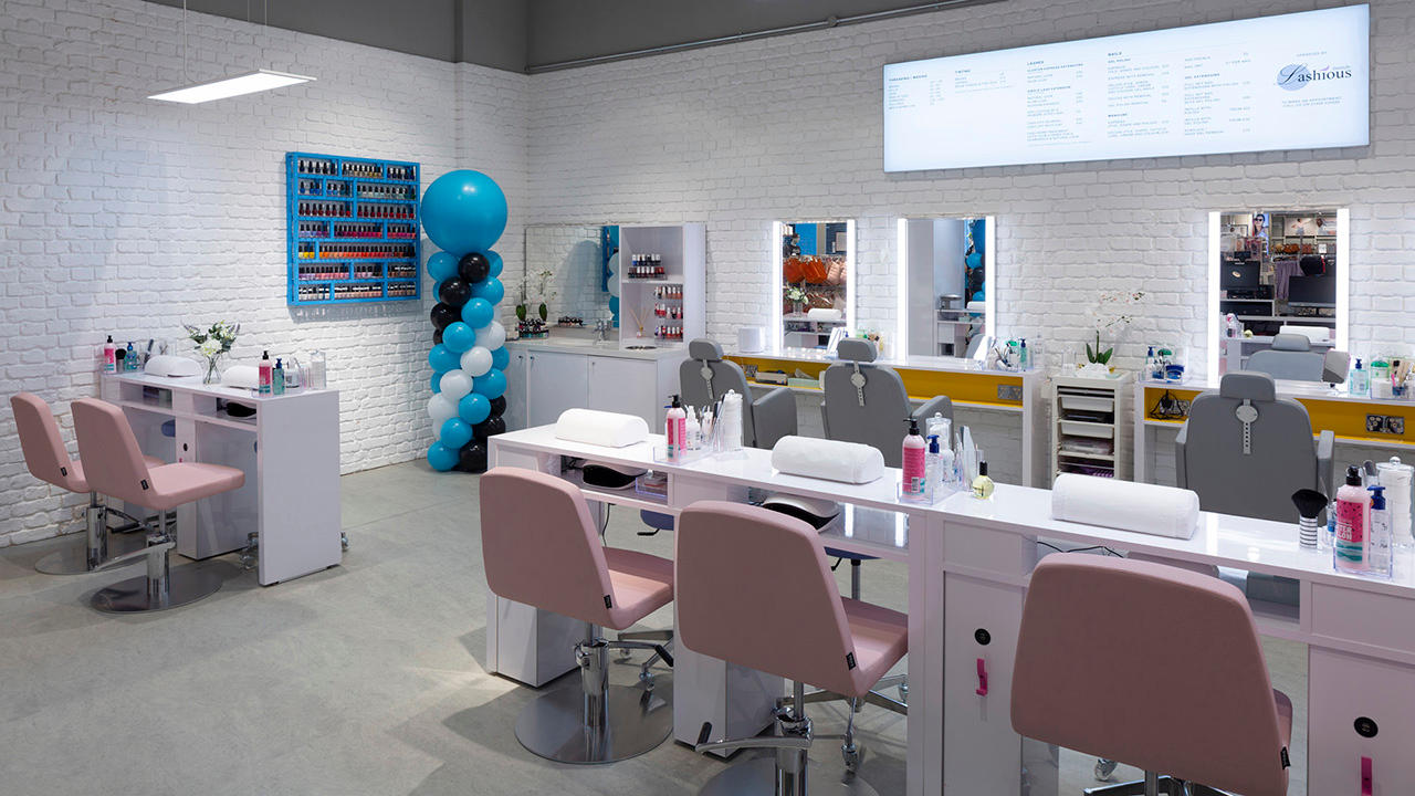 Inside Primark Beauty Studio Milton Keynes