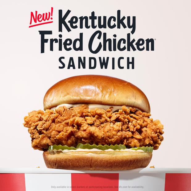 Kentucky Fried Chicken Sandwich