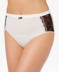 Image of Bali Cotton Desire Lace High-Cut Brief DFCD62