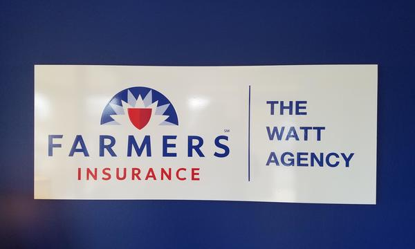Farmers Agency Logo and Sign