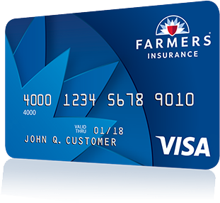 Introducing the  Farmers® Rewards Visa® Cards