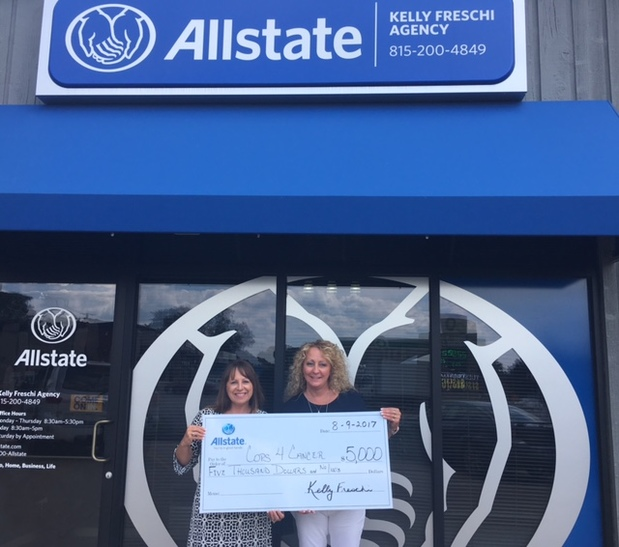 Kelly Freschi - Allstate Foundation Helping Hands Grant for Cops 4 Cancer