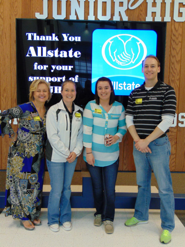 Jessica P Max - Allstate Foundation Helping Hands Grant Helps Southridge Junior High