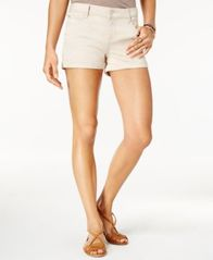 "Image of Celebrity Pink Juniors' 3"" Cuffed Colored Shorts"