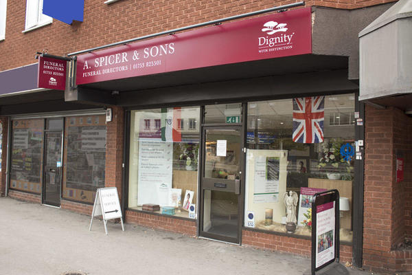A Spicer & Sons Funeral Directors in Slough