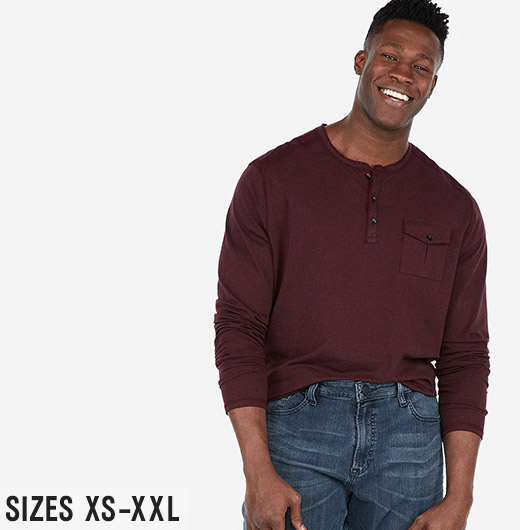 Shop Men's New Arrivals in Sizes XS to XXL!