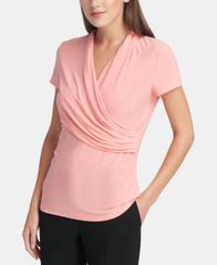 Image of DKNY Ruched Top
