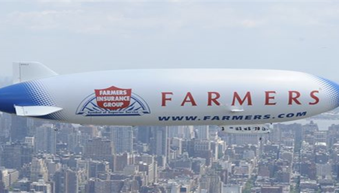 The Farmers® Blimp