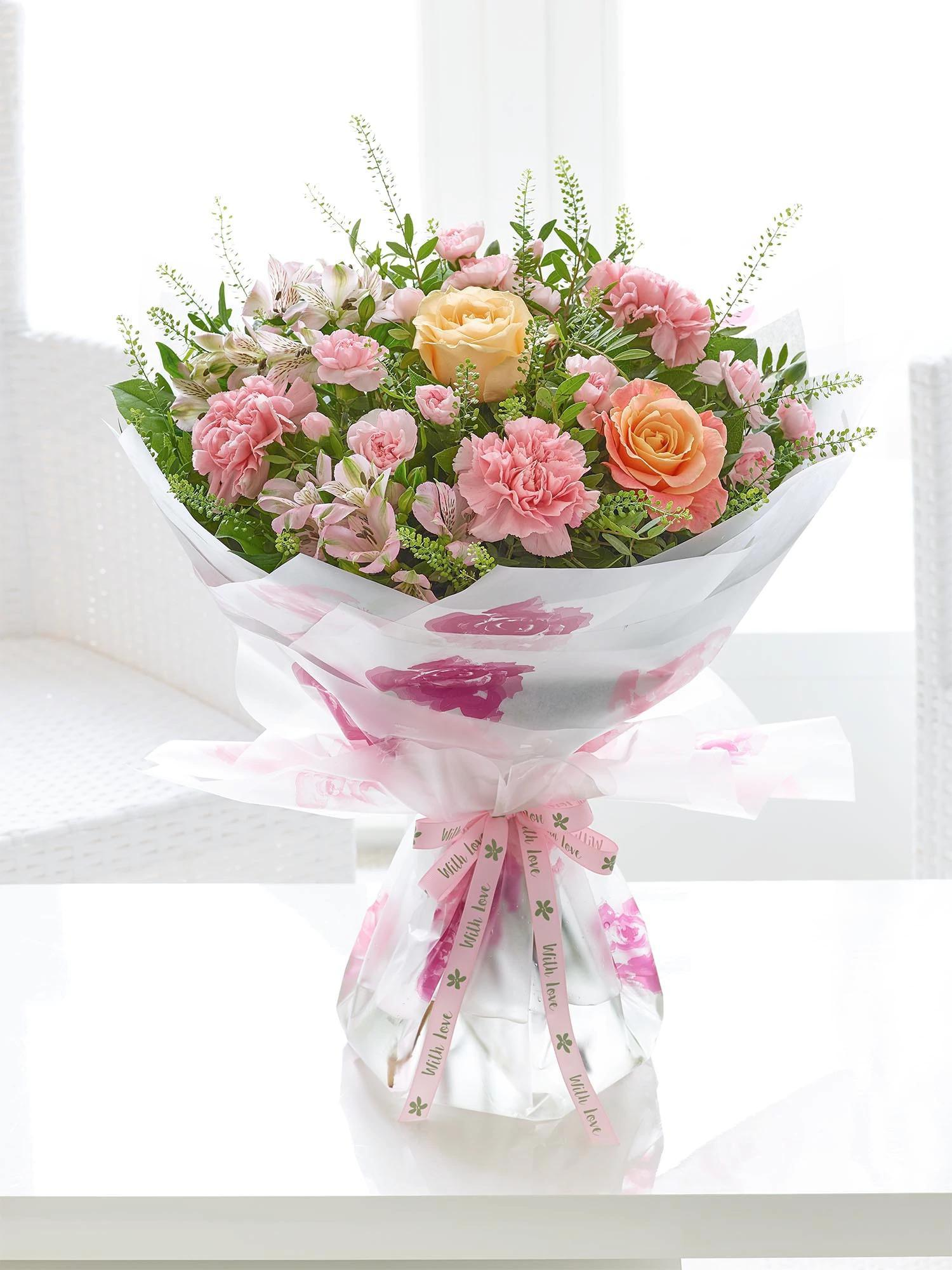 Image of Sweet Pastels Mother's Day Hand-tied