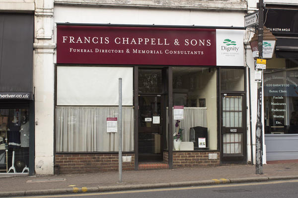 Francis Chappell & Sons Funeral Directors in Beckenham