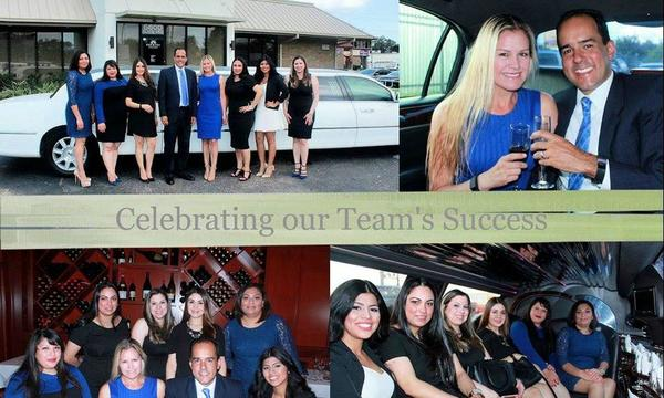 Celebrating our Team Success!