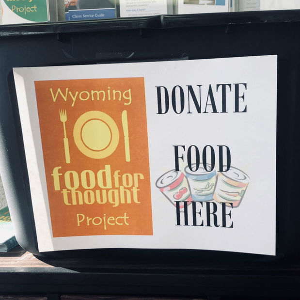 Brian Helling - We're Collecting Supplies for Wyoming Food for Thought Project