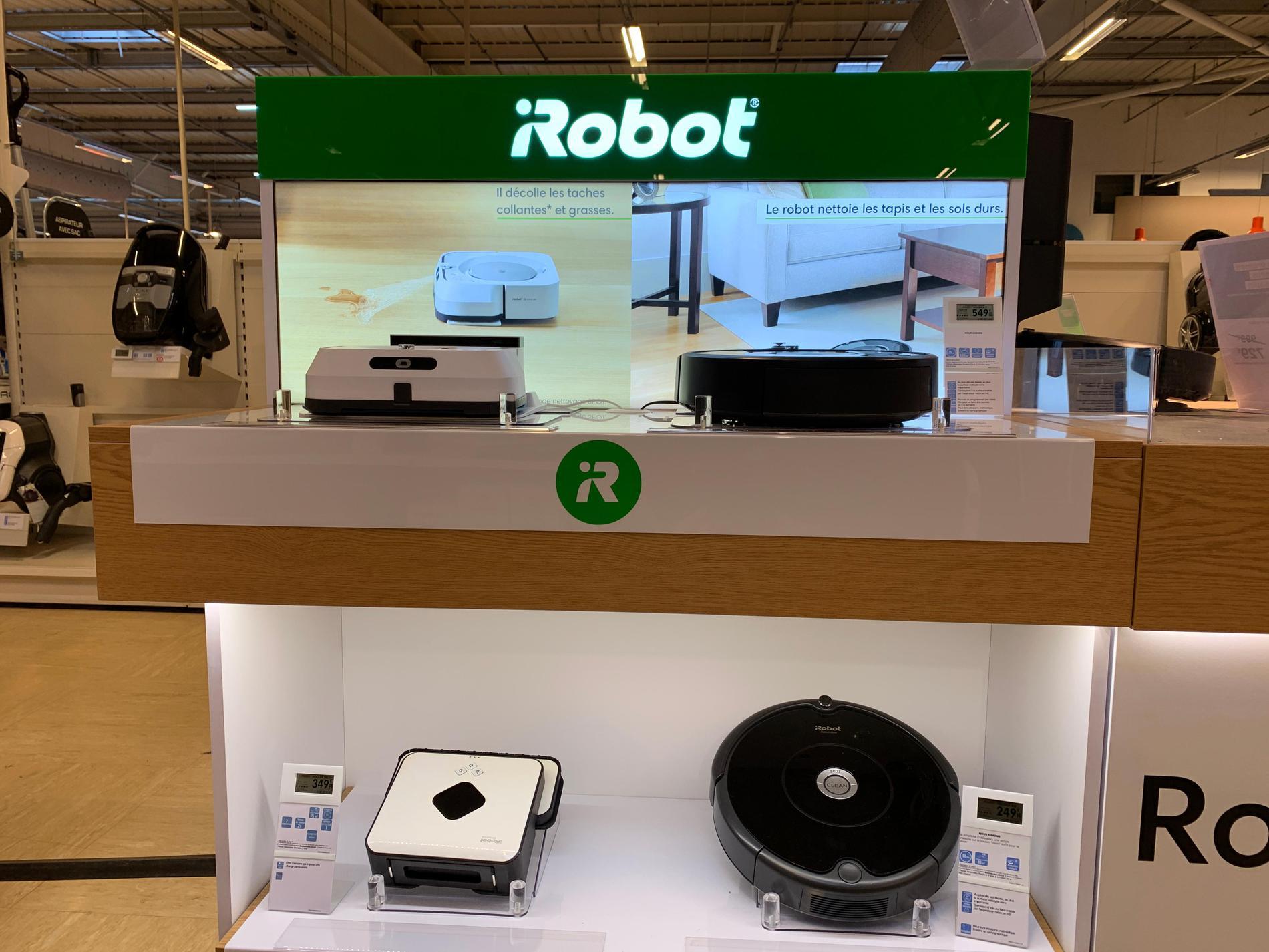 Espace iRobot - Boulanger Toulouse - Colomiers - Magasin Boulanger Toulouse - Colomiers