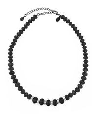 Image of 2028 Jet Bead Necklace, a Macy's Exclusive Style