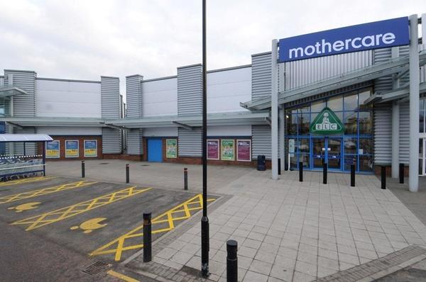 Mothercare Falkirk store outside