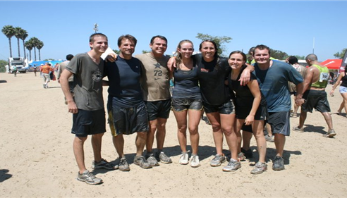 One of our many Mud Runs.  This one at Camp Pendleton in 2013.
