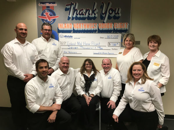 William Jorgensen - Allstate Foundation Grant Helps Inland Northwest Honor Flight