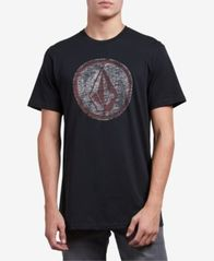 Image of Volcom Men's Classic Stone Logo Graphic T-Shirt