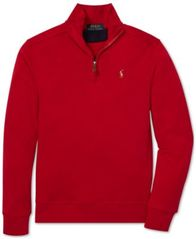 Image of Polo Ralph Lauren Big Boys Half-Zip Supima® Cotton Pullover