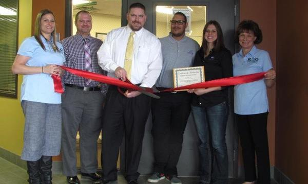 Ribbon Cutting-New Office 2015