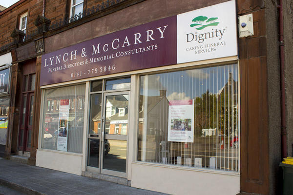 Lynch & McCarry Funeral Directors in Stepps, Glasgow