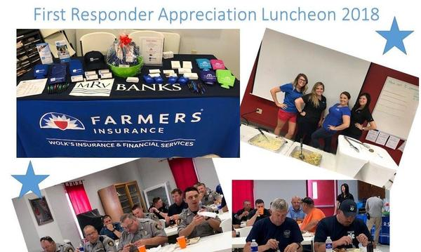 First Responder Appreciation Luncheon