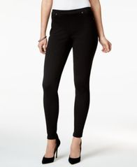 Image of Style & Co Twill Pull-On Leggings, Created for Macy's