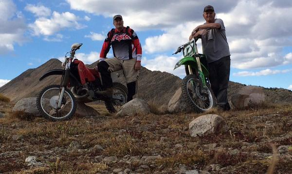Motorcycling with friends in God's country...we have insurance for that too.