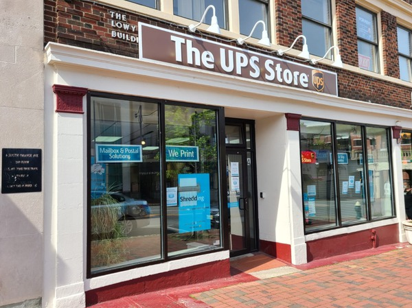 Storefront of The UPS Store in South Orange, NJ