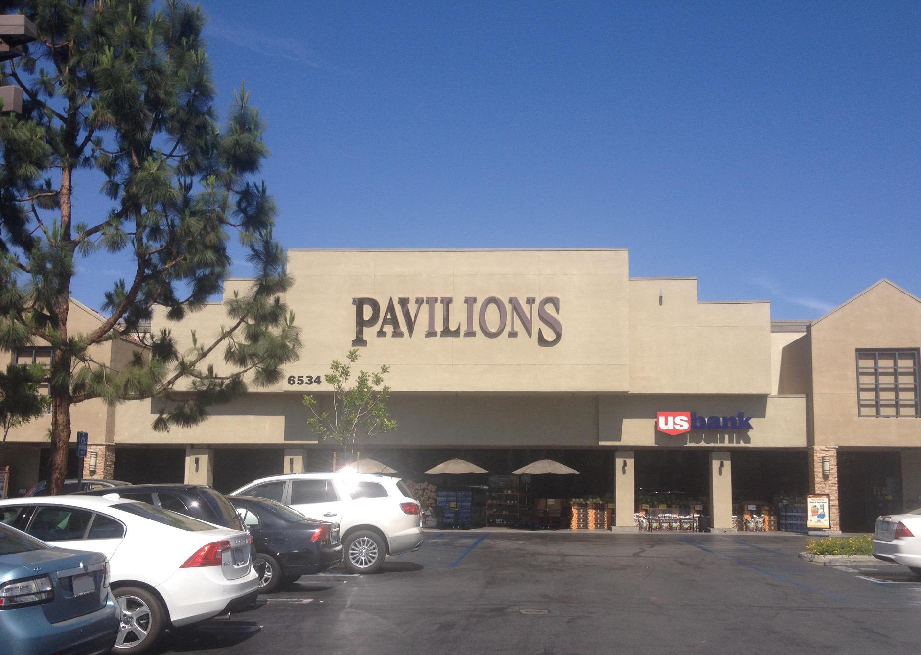 Pavilions store front picture at 6534 Platt Ave in West Hills CA