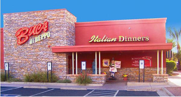 Front Photo Map Of Buca Di Beppo Italian Restaurant