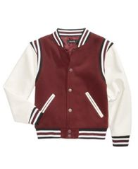 Image of Ring of Fire Big Boys Varsity Jacket, Created for Macy's