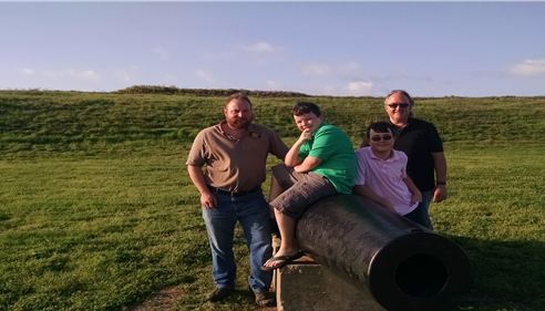 More fun at Fort Morgan, thank you John Gurner for a great time