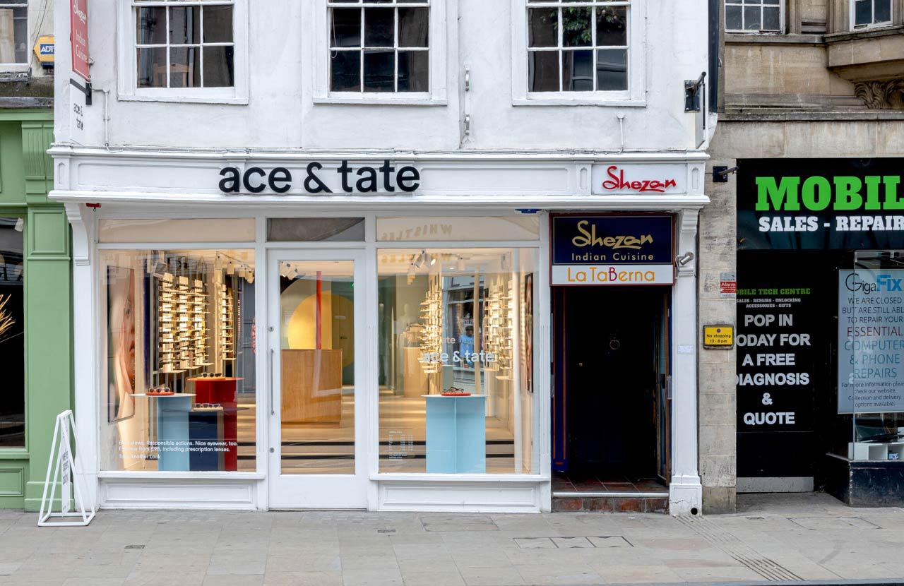 Ace & Tate High Street store interior
