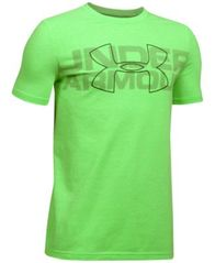 Image of Under Armour Charged Cotton® Graphic-Print T-Shirt, Big Boys