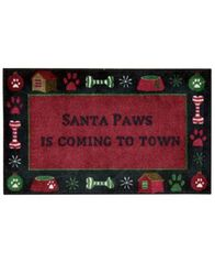 "Image of Nourison Holiday Paws 18"" x 30"" Accent Rug"