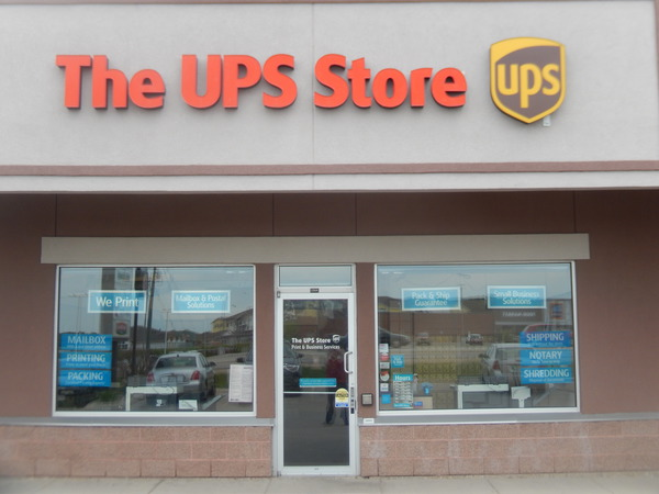 ups store of stoughton storefront