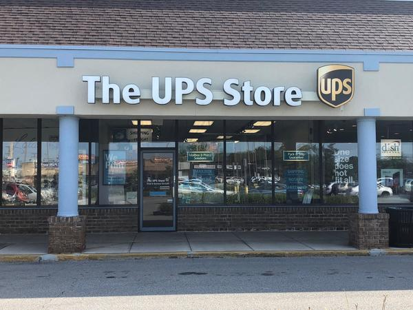 Facade of The UPS Store Erie