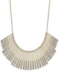 Image of I.N.C. Gold-Tone Pavé Statement Necklace, Created for Macy's