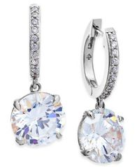 Image of kate spade new york Crystal and Pavé Drop Earrings