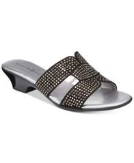 Image of Karen Scott Esmayy Slide-On Sandals, Created for Macy's