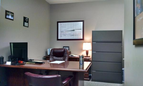 Gabe's office.