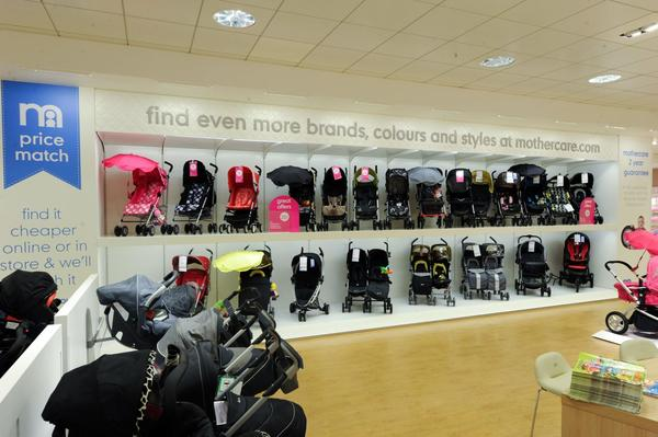 Mothercare Bluewater pushchairs