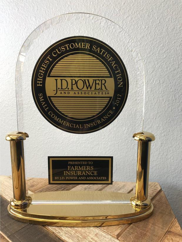 JD powers award
