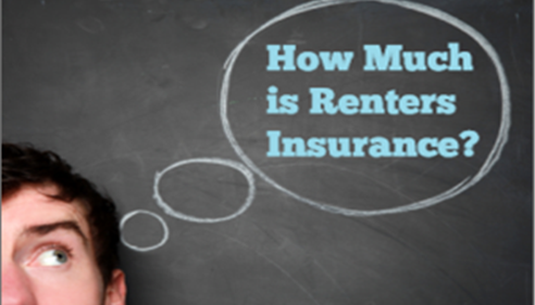 Renters Insurance is typically between $12 - $20 a month.