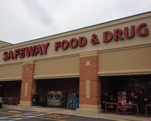 Safeway Store Front Picture at 403 Redland Blvd in Rockville MD